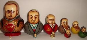 Matryoshka of Russian politicians