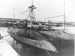 Submarine Porpoise and Fulton