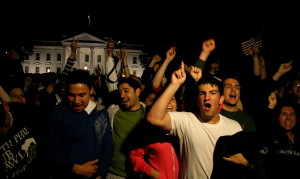 US reaction to the death of Osama bin Laden