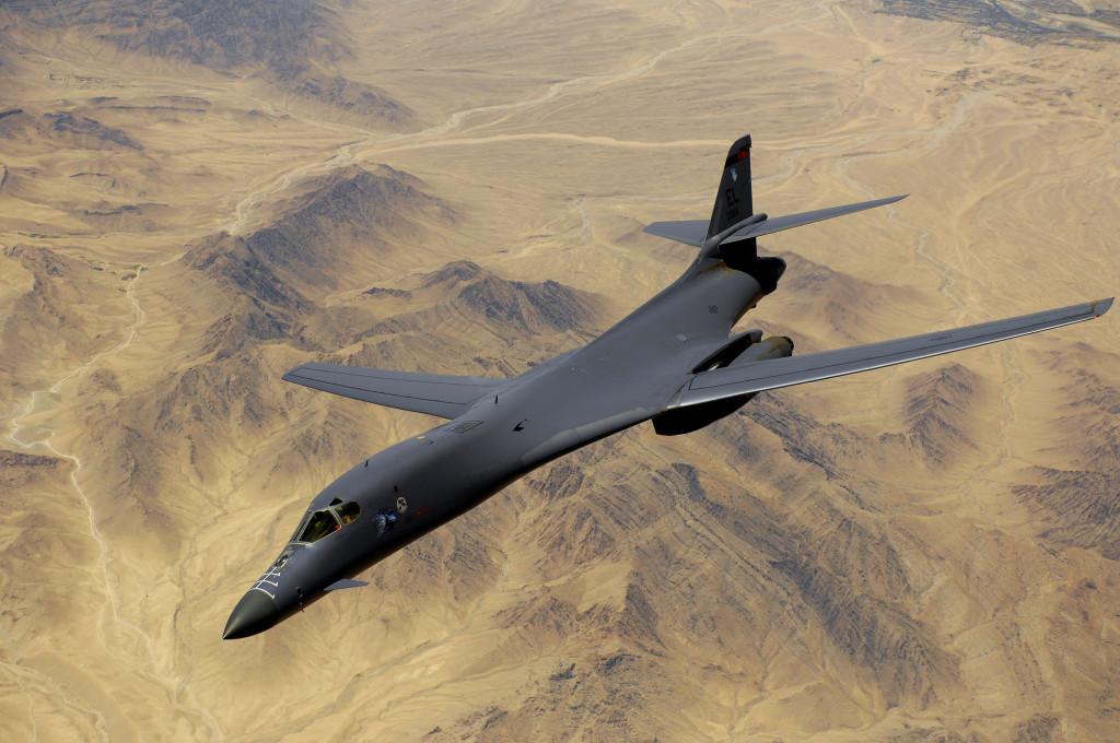 USAF B-1B over Iraq