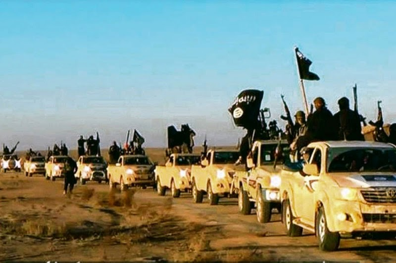 ISIS Toyota Hiluxes
