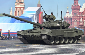 Russian T-90 at 2013 military parade