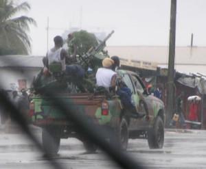 Toyota Hilux in Liberia