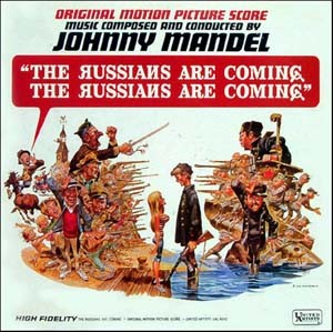 Album cover of the 1966 United Artists Records soundtrack album The Russians Are Coming, the Russians Are Coming of the film of the same name