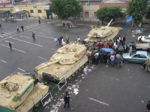 Martial law in Cairo, c. 2011