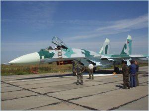 Belarussian SU-27 Flanker